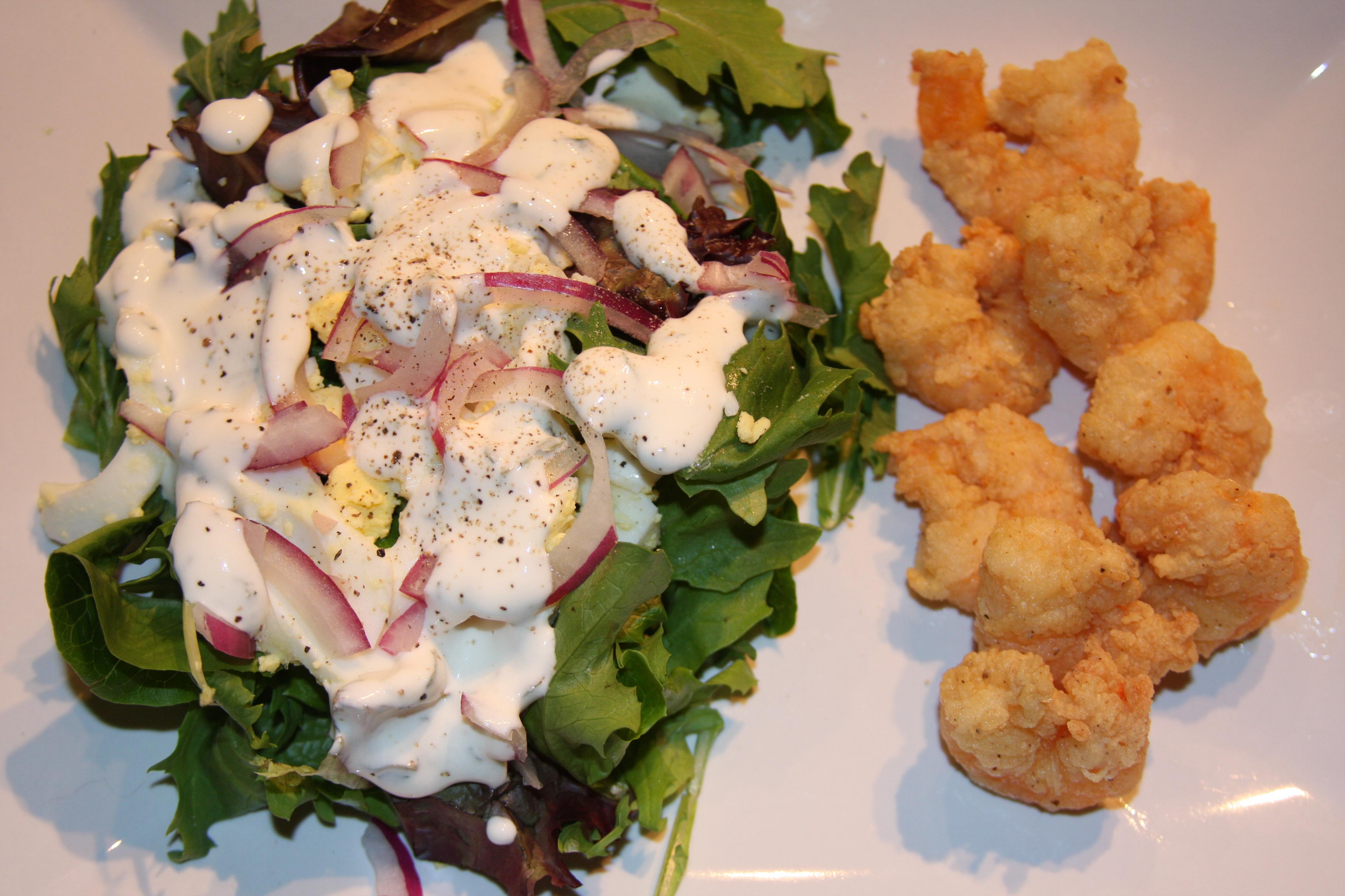 Creamy Lemon Basil Salad Dressing | OhMyGoodyGoodness